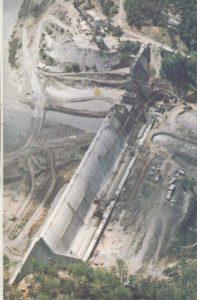 Tallowa Dam Construction
