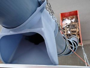 Rubbish Chutes for Sale or Hire | Australian Scaffolds