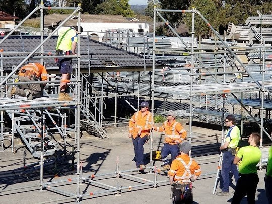 Temporary Stairs & For Access | Australian Scaffolds | 1300 919 905