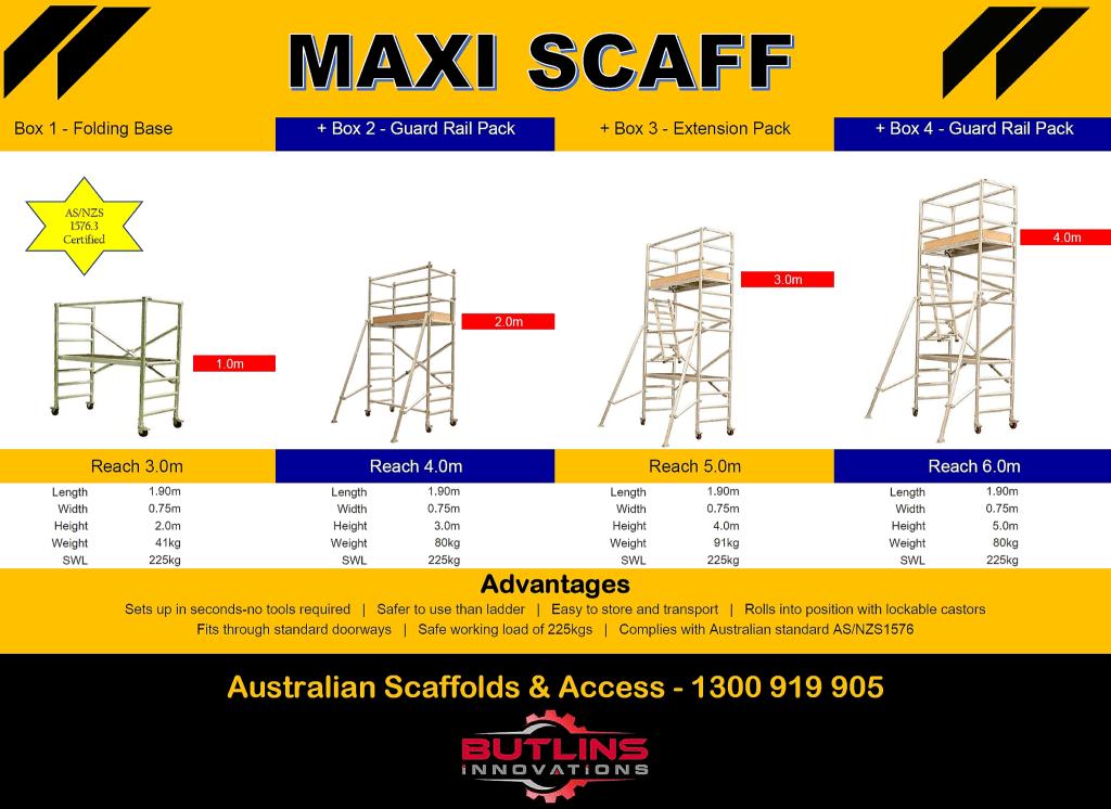 Mobile Scaffolding For Sale | Australian Scaffold | 1300 919 905