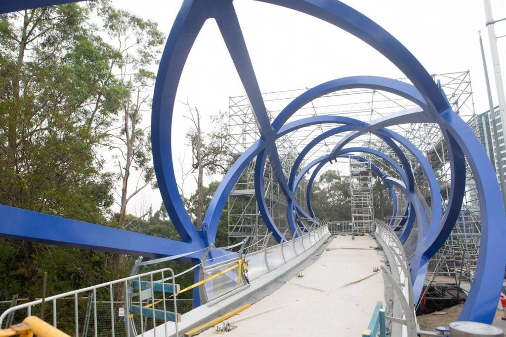 Lachlans Line Bridge Scaffold