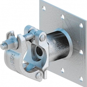 Half Coupler with Plate